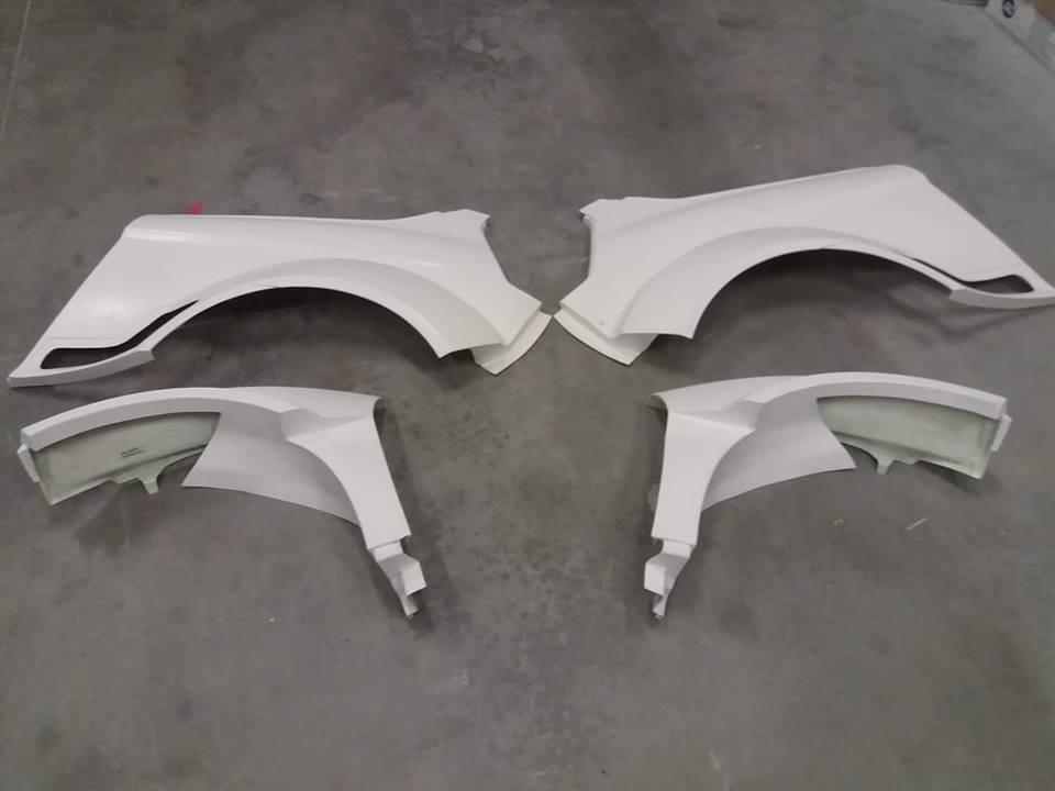 Rally parts, body parts in fiberglass, R5, WRC, Circuit/Poly-creation.eu