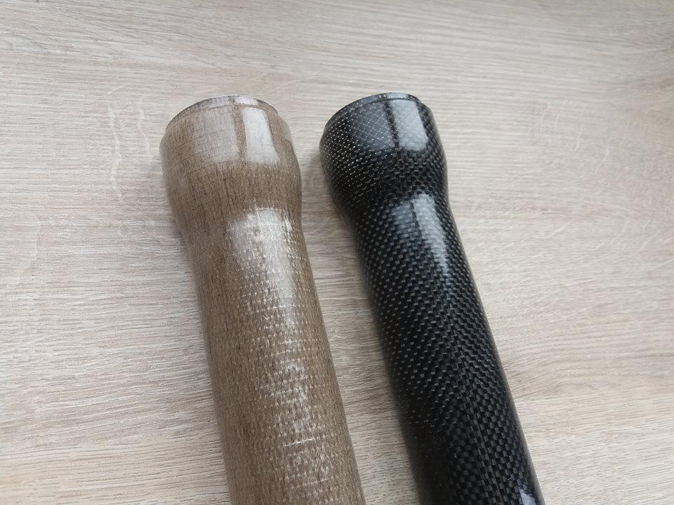 Fiberglass Company Carbon Flax Rubber Poly Creation
